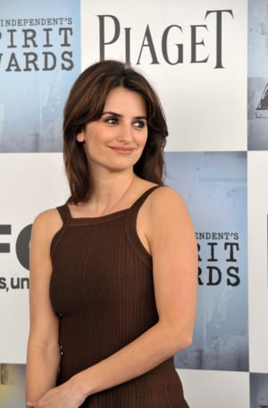 Penélope Cruz en los Independient Spirit Awards