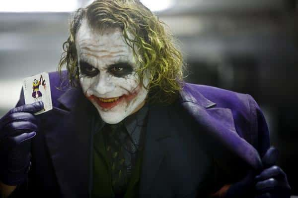 Heath Ledger como El Guasón