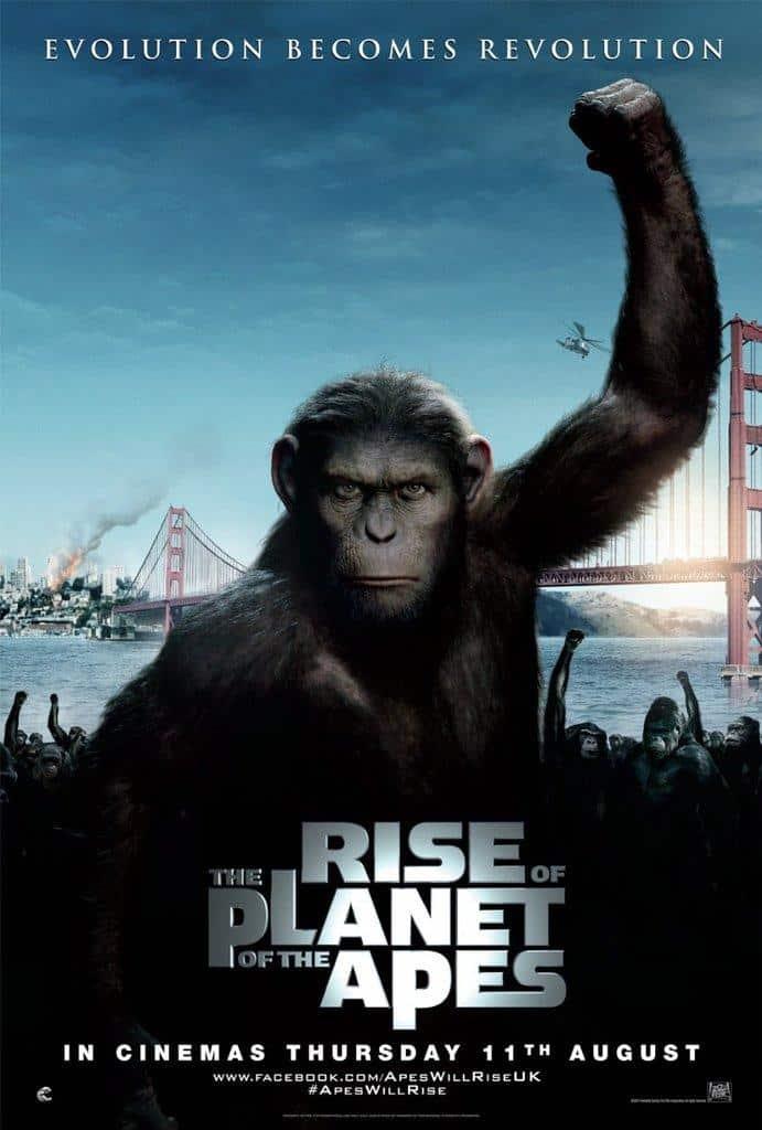 Poster de El Planeta de los Simios (R)Evolución