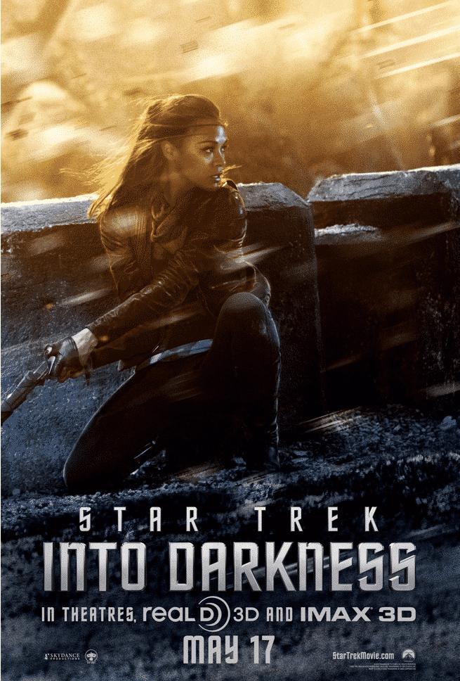 Uhura (Zoe Saldana) - Star Trek Into Darkness