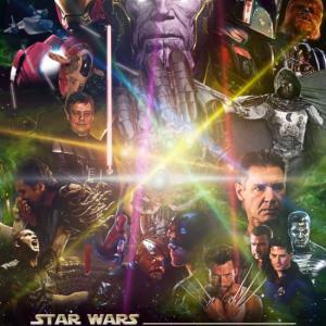 The Avengers-Star Wars fan art