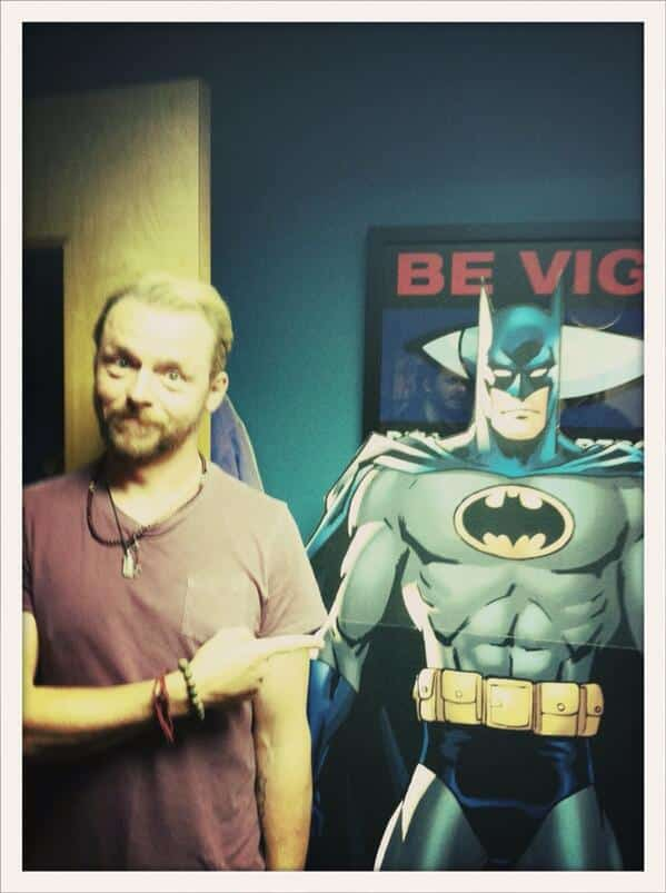 Simon Pegg Batman