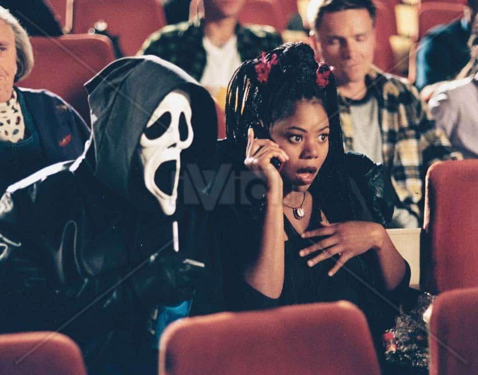 Scary Movie teather scene
