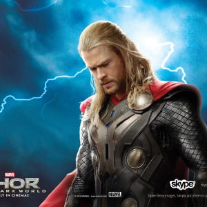 Nuevo TV Spot de THOR: The Dark World viene acompañado por wallpapers de Skype de Loki y Thor.