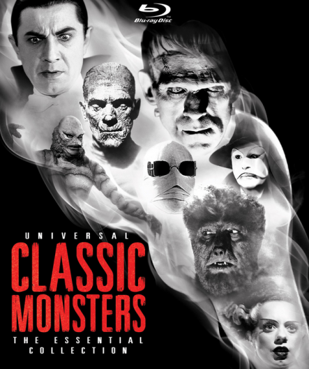 Universal Classic Monsters: The Essential Collection, ahora en Blu-Ray