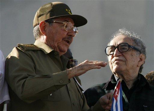 Gabriel Garcia Marquez, Raul Castro