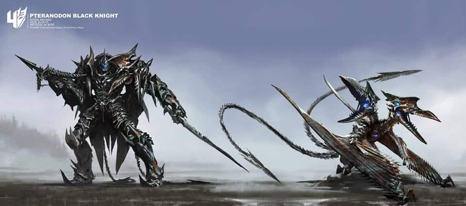 Mucho arte conceptual de TRANSFORMERS: Age Of Extinction.