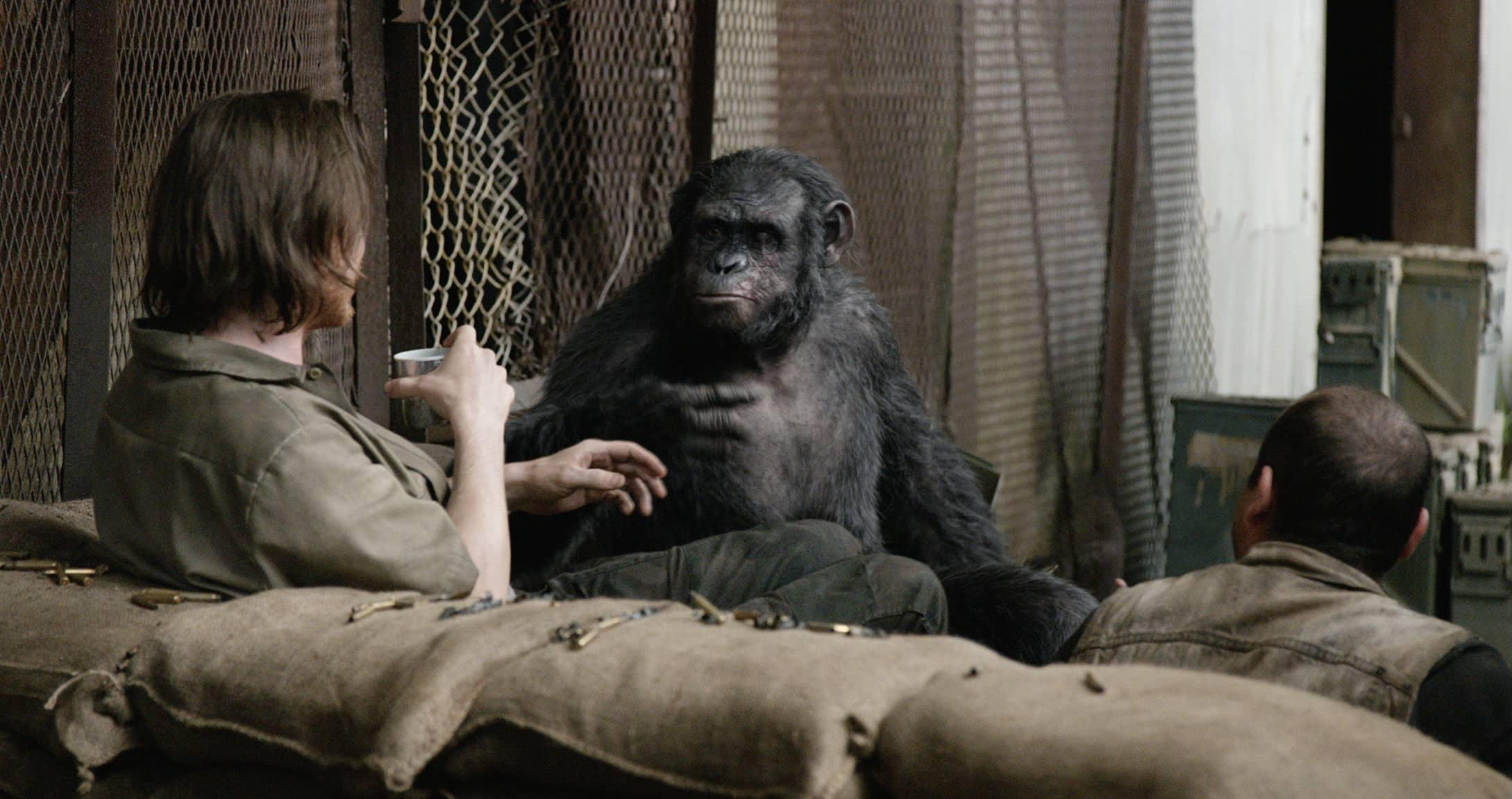 el villano de El Planeta de los Simios: Confrontación