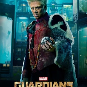 Clip extendido de Guardians Of The Galaxy  y poster de The Collector.