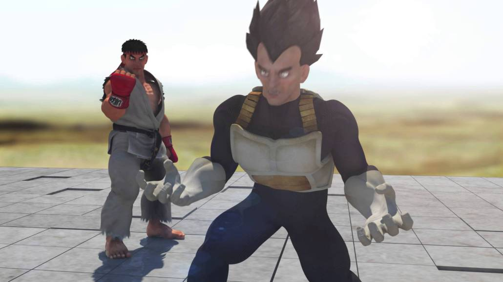 Video thumbnail for youtube video Street Fighter / Dragon Ball Z: Ryu vs Vegeta CGI - Cine3.com