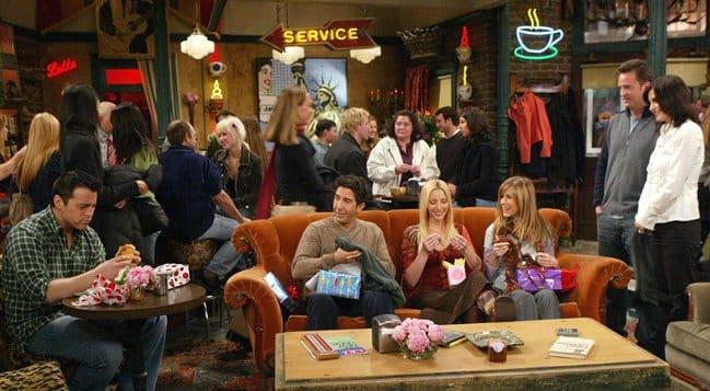 Grandes momentos de Friends se vivieron en el Central Perk