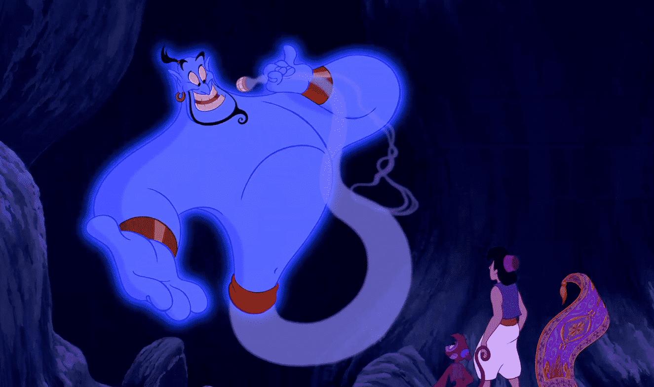 El Genio de Aladdin
