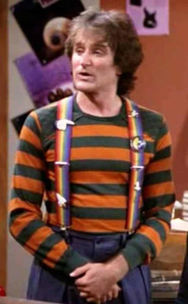 Mork, su primer éxito fue en la TV