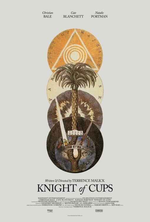 Knight of Cups Poster