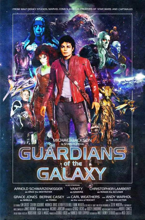 Michael jackson Star-Lord