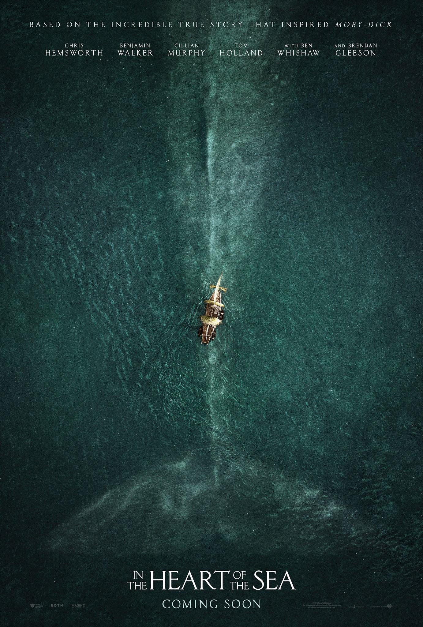 Nuevo trailer para In the Heart of the Sea de Ron Howard