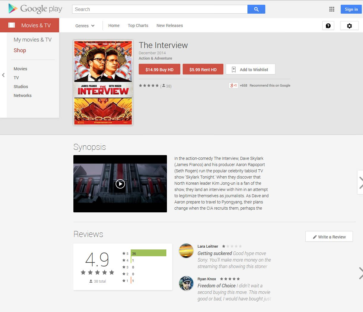 google play the interview online the interview watch