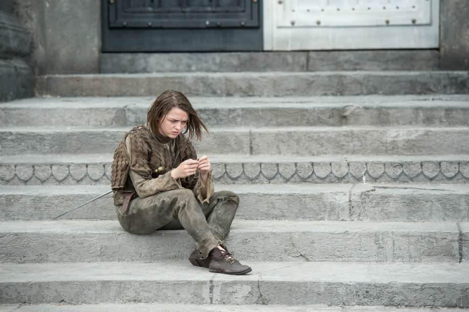 Maisie Williams as Arya Stark – photo Macall B. Polay/HBO