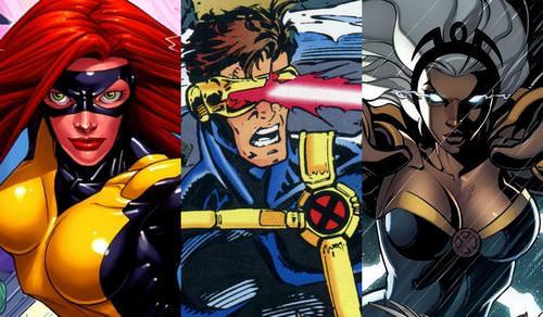 Grey, Cyclops, Storm
