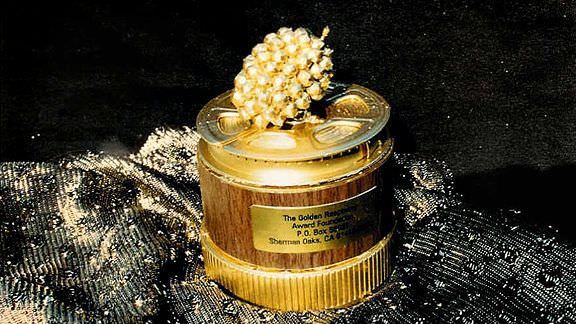 Imagen promocional de Los Premios Razzie, que ha revelado los nominados de 2014. Los Premios Razzie ha anunciado los nominados  a los premios Razzie de 2014, entre los principales nominados están 'Transformers: Age of Extinction', 'A Million Ways to Die' y 'Sex Tape'. Los Premios Razzies 2014 han revelado sus nominados, entre los principales están Transformers: Age of Extinction', 'A Million Ways to Die', 'Sex Tape', 'Saving Christmas de Kirk Cameron', 'Noah' y 'Left Behind' de Nicolas Cage.
