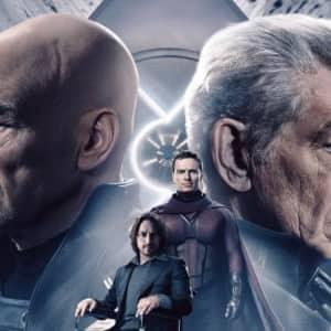 Xavier-Magneto Patrick Stewart Ian McKellen