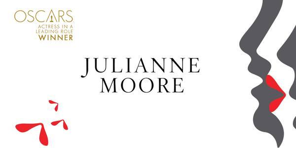 Imagen Promocional de los Premios Oscar a Mejor Actriz para Julianne Moore por Still Alice