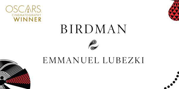 Imagen Promocional de los Premios Oscar para Birdman.