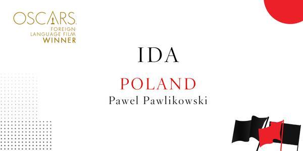 Imagen promocional de los Premios Oscar a Mejor Película Extranjera a Ida (Polonia).