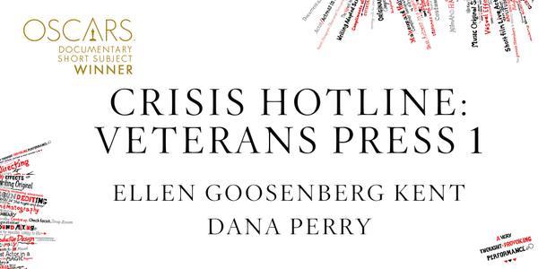 Imagen Promocional de los Premios Oscar por Mejor Documental Corto a Crissis Hotline