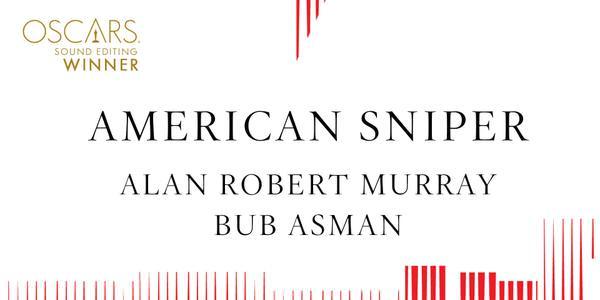 Imagen promocional de los Premios Oscar a Mejor Edición de Sonido para American Sniper.