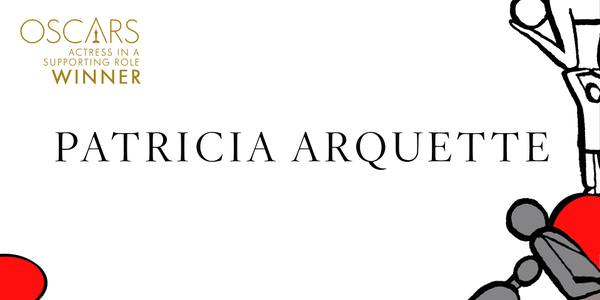 Imagen Promocional de los Premios Oscar a Mejor Actriz Secundaria para Patricia Arquette por Boyhood.