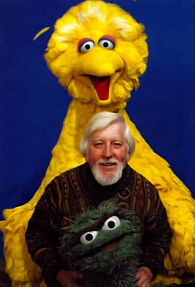 Caroll Spinney y Big Bird (1)