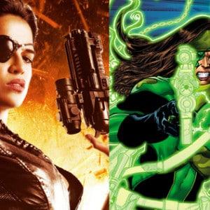 Michelle Rodriguez Green Lantern