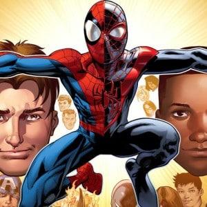Spider Man Peter Parker Miles Morales