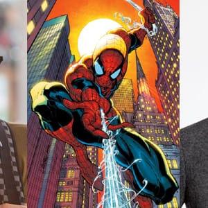 Spider Man Dylan O'Brien Logan Lerman