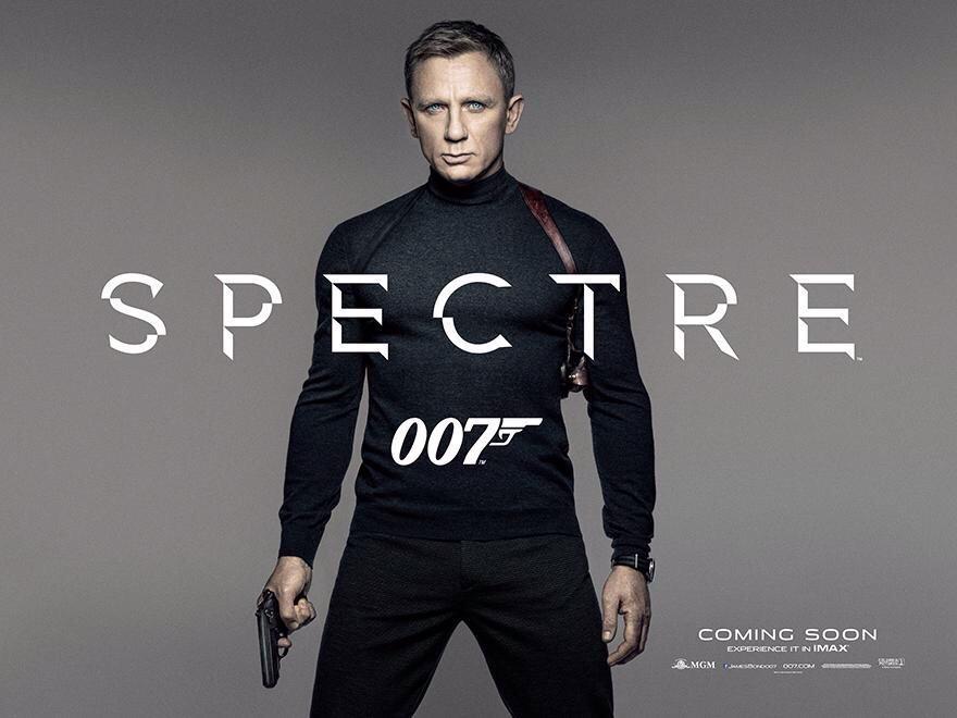 IMAX Bond 007 Daniel Craig #spectre