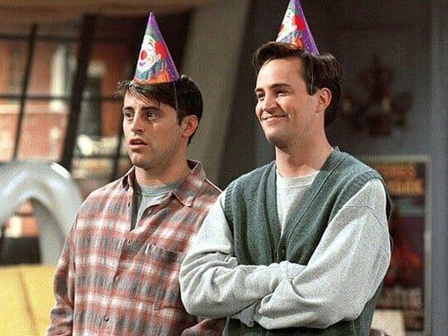 Joey y Chandler fueron compañeros de cuarto durate tres años