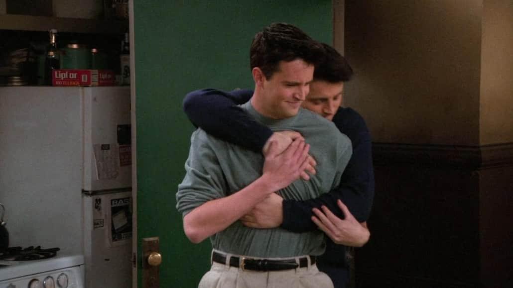 Joey debe de estar muy agradecido con Chandler
