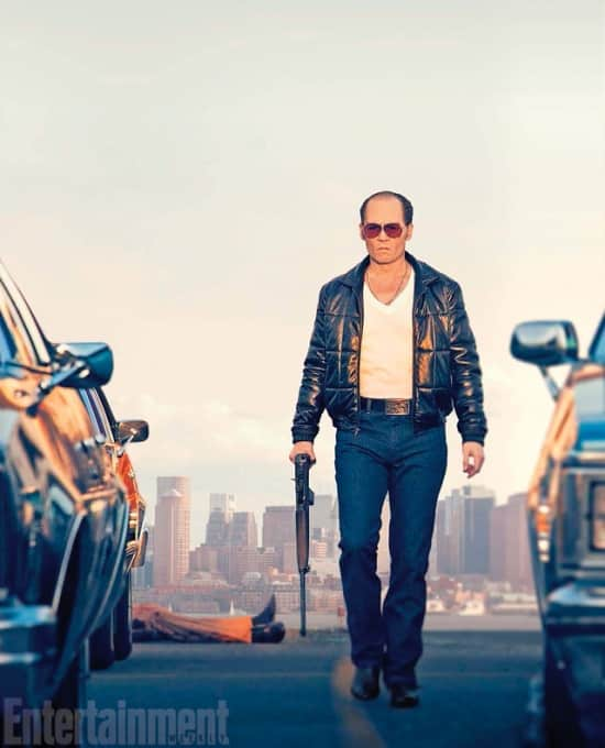 "Johnny Depp en ""Black Mass"""