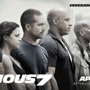 'Furious 7' emotivo homenaje a Paul Walker