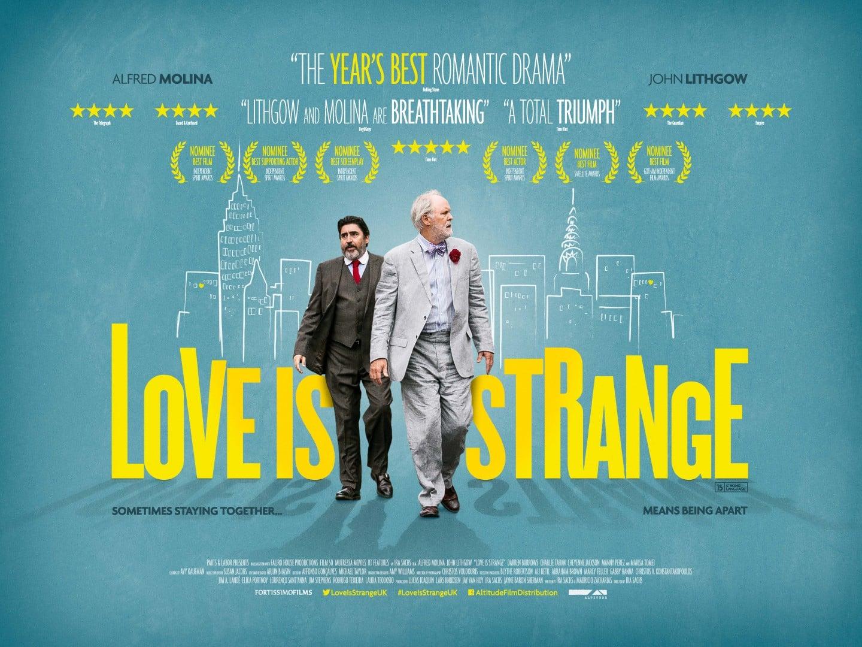 'Love is Strange' genuino melodrama que brinda destacadas actuaciones