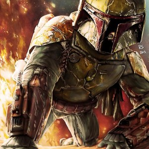 Boba Fett en la segunda Star Wars Anthology