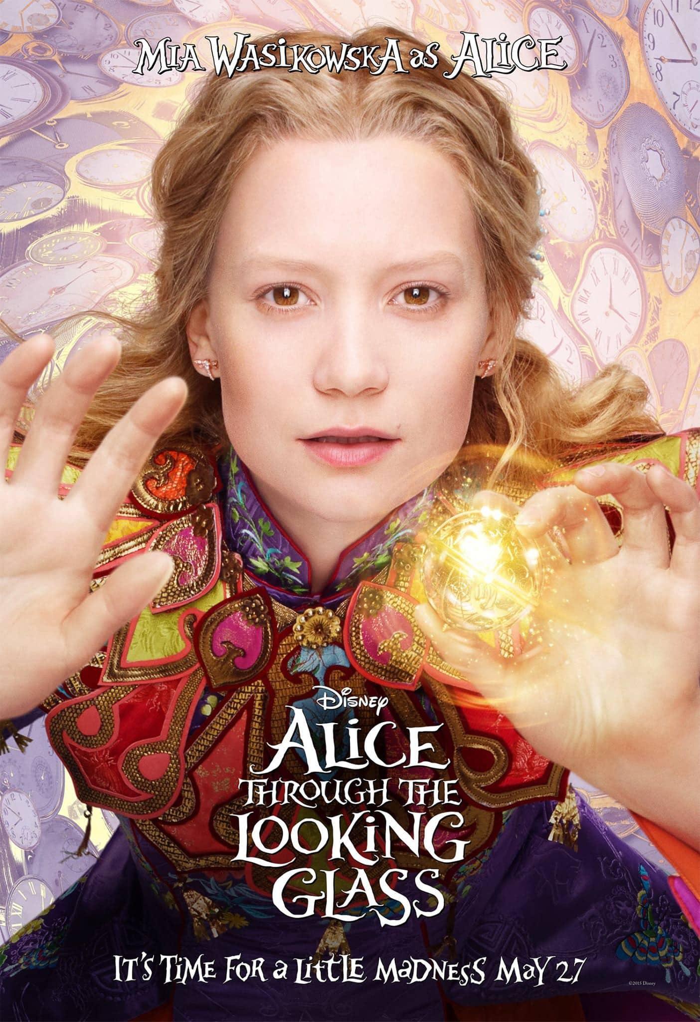 Alice Through the Looking Glass - Mia Wasikowska es