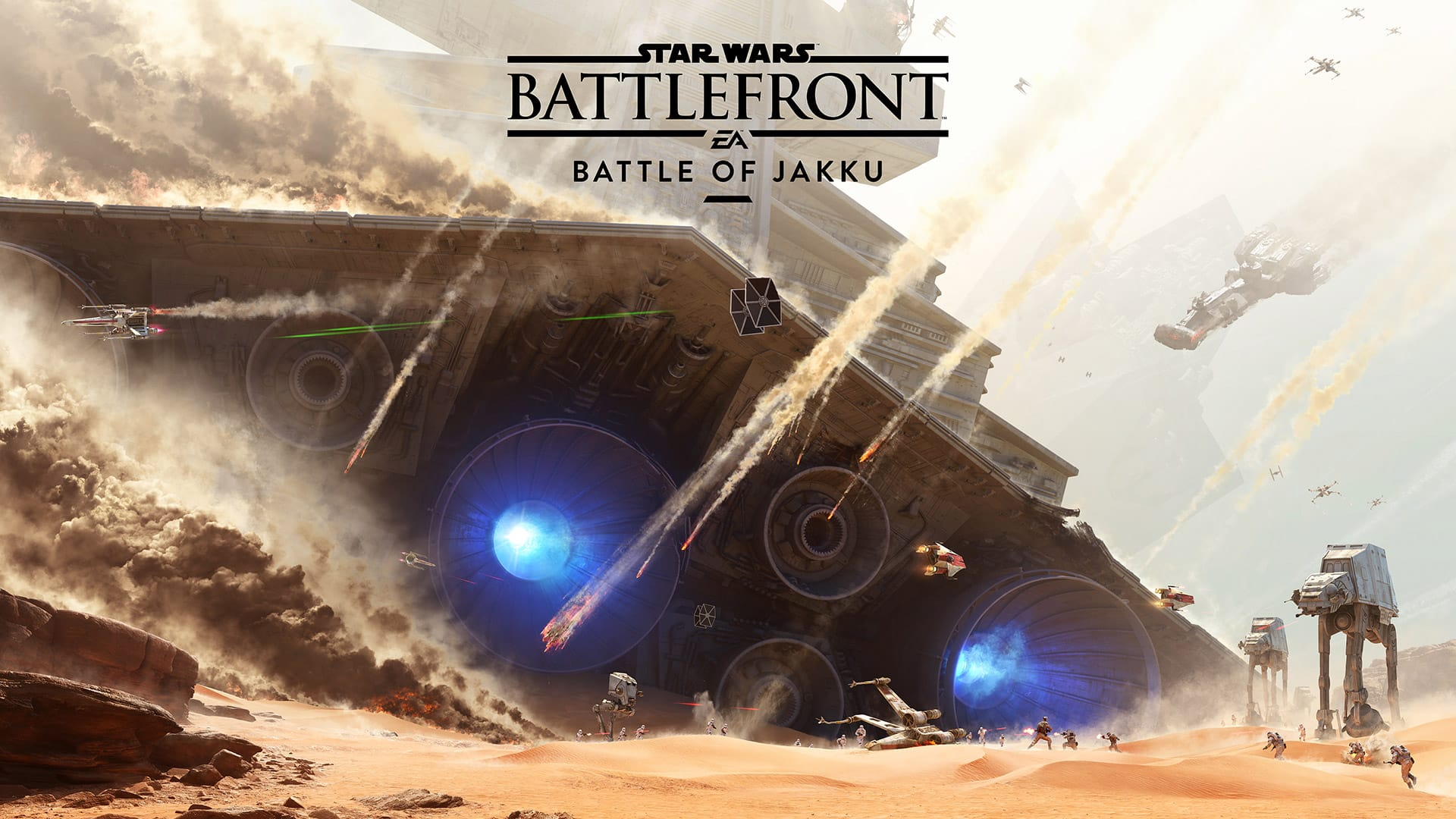 Star Wars Battlefront Battle for Jakku