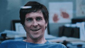 Christian Bale como Michael Burry