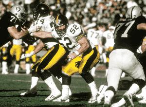 Mike Webster, ex-jugador de los Steelers y primera víctima del descubrimiento de Omalu