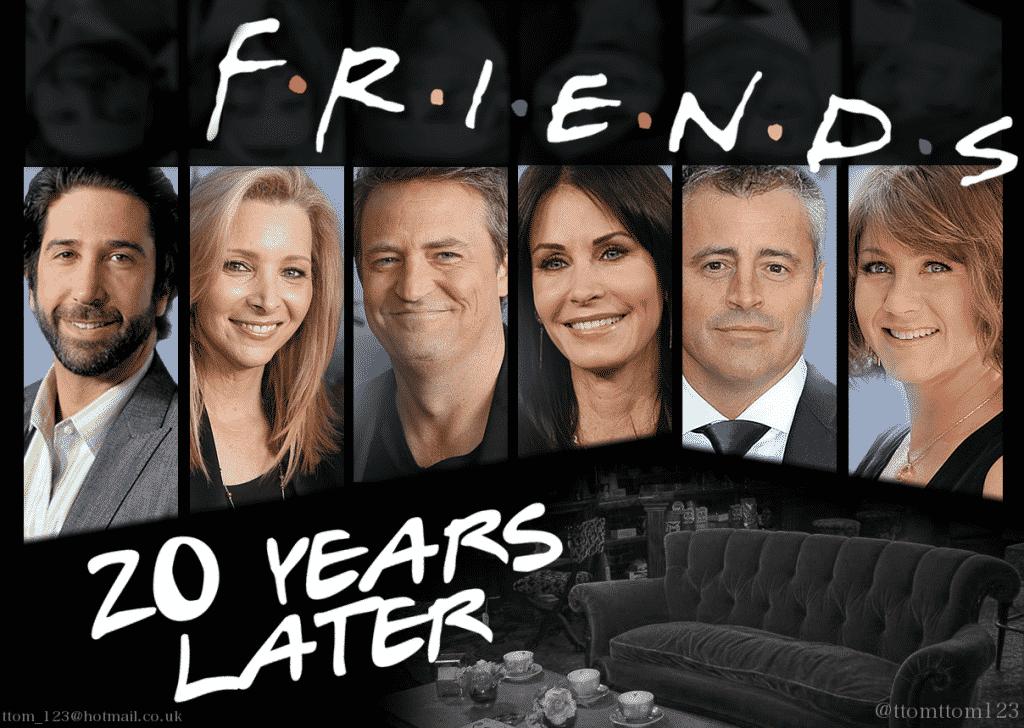 ¿Así se verán los protagonitas 20 años después del estreno de la serie?