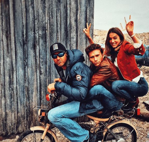 Ana de Armas, Scott Eastwood