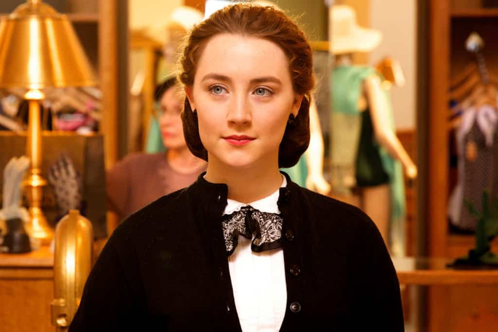 Saoirse Ronan es la joven protagonista de la cinta 'Brooklyn'. © 2015 - Fox Searchlight Pictures