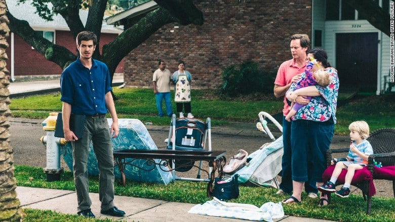 Andrew Garfield protagoniza '99 Homes'. © Broad Green Pictures